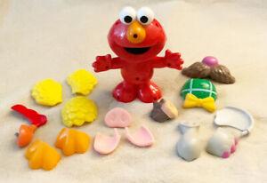 Talking Elmo Silly Parts Interactive Toy Sesame Street Mattel 2003