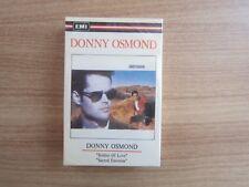 DONNY OSMOND - Donny Osmond RARE Korea Edition Sealed Cassette Tape