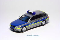 Herpa 048613 BMW 5er Touring Polizei Hessen Autobahnpolizei 1:87 H0