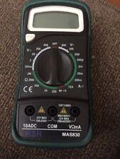 Commercial Electric Digital Multimeter 600Vac Model Mas830