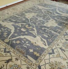9 x 12 Super Quality Indo Ushak Serapi Oushak Caucasian Kazak Vintage Turkish