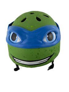 TMNT Teenage Mutant Ninja Turtle Bicycle Helmet Leonardo Size Small