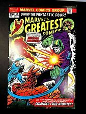 MARVEL'S GREATEST COMICS 58 (9/75 8.5 non-CGC) LEE/KIRBY/SILVER SURFER/GALACTUS!