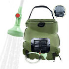 20L Portable Shower Heating Pipe Bag Solar Water Heater Outdoor Camping Camp RG