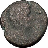 AUGUSTUS 27BC Thessaly Koinon Larissa ATHENA Authentic Ancient Roman Coin i47244