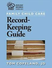 Family Child Care Record-Keeping Guide by Copeland, Tom