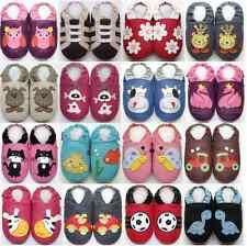 Minishoezoo Canada Chausson bébé chaussons enfant chaussures cuir semelle