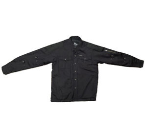 Scorpion EXO Covert Waxed Motorcycle Riding Shirt Jacket - Black M
