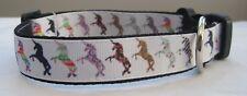 Unicorn dog collar or lead Grooming cute puppy dog pony rainbow stars handmade