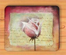ROSE ROMANTIC FLOWER GIFT DESIGN MOUSE PAD -juh6Z