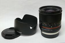 Samyang 1,4 / 21 mm Objektiv schwarz für Fujifilm X-Mount gebraucht