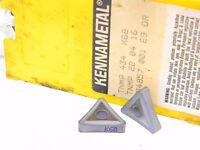 NEW SURPLUS 10PCS. KENNAMETAL  TNMP 434  GRADE: K68  CARBIDE INSERTS