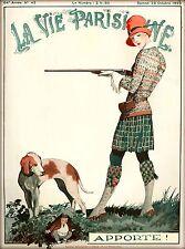1926 La Vie Parisienne Apporte! French France Travel Advertisement Poster Print