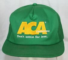 Vtg Snapback Mesh Hat Trucker Farmer Cap Aca Concentrate Farming K Products Crop