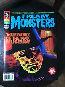 Freaky Monsters Magazine Issue #19..Famous Monsters Type Excellent