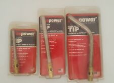 Set of (3) FirePower Torch Tips-NOS USA