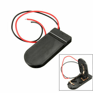 CR2032 3v Button Coin Cell Battery Holder Case Box With On-Off Switch