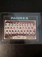 1971 Topps San Diego Padres Team Card #482 NM+++