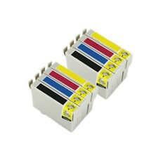 8 Tintas compatible non oem para Epson Stylus SX130 T1281 T1282 T1283 T1284