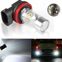 6000K HID White High Power H11 CREE LED Bulbs Car Fog DRL Driving Light 60W Lamp