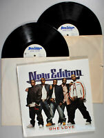 New Edition - One Love (2004) 2-LP Vinyl • PROMO • Hot 2 Nite