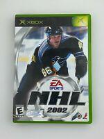 NHL 2002 - Original Xbox Game - Tested