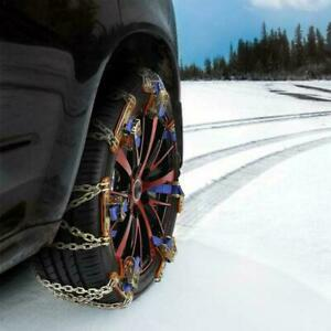 1x Emergency Accessories Tire Traction Aid for Snow Mud Tire Car Van Truck Chain
