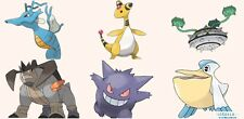 Ultra Pokemon Sun and Moon Mega-Ampharos Team 6IV-EV Trained