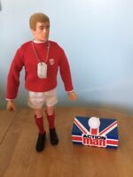 40th Vintage Action Man Footballer Outfit With Dog Tag