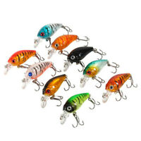 5pcs Plastic Set of Fishing Lures Bass China CrankBait Hard Crank Bait 4.5cm/4g
