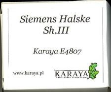 Karaya Models 1/48 SIEMENS HALSKE Sh.III AIRCRAFT ENGINE Resin Set