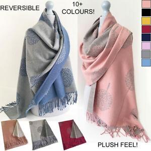 Cashmere Scarf Blanket Scarves Pashmina Shawl Wrap Oversized Large Winter Knit