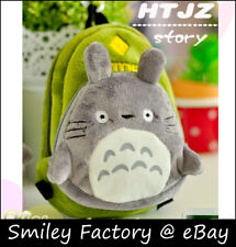 Totoro Plush Backpack Phone Bag Coin Pouch Wallet Pencil Case Cosmetic Zip Bag