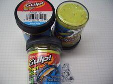 Berkley Power Bait Trout Bait Glitter Gulp Butter. Yellow 3x50g-Glas 100g/6,66€