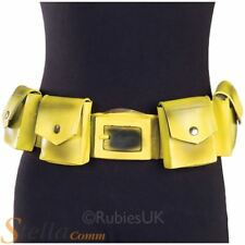 Official Batman Yellow Utility Belt Superhero Fancy Dress Costume Accessory