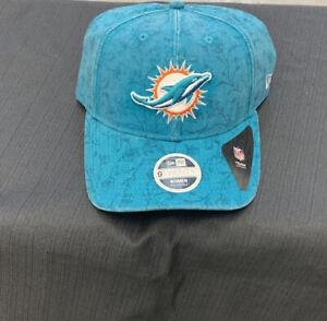 Women's Miami Dolphins New Era Aqua Themed 9TWENTY Adjustable Hat
