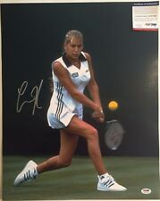 Anna Kournikova Autographed 16x20 Tennis Photo PSA/DNA COA