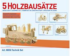 Donau Elektronik M850 - Holzbausatz 5 x Technik