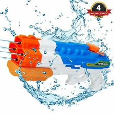 1200cc Water Soaker Blaster Squirt Pull-Type Water Gun Summer Water Fighting Toy