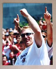 Former Red Wings Brett Hull RARE Parade Photo