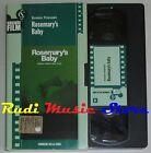 film VHS ROSEMARY'S BABY R. Polanski CARTONATA CORRIERE DELLA SERA (F11*) no dvd