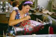 766083 Khokhloma Crafts FACTORY semenov Nizhny Novgorod Russia A4 FOTO STAMPA