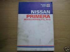 Werkstatthandbuch Nissan Primera, Stand 1990