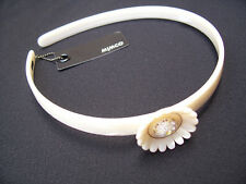 Mimco Daisy Alice Band  HeadBand / hair, BN With Red Mimco Tag RRP $49.95