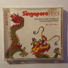 Singapore Tribal - Tech House / Zouk DJ Aldrin - Muzik Mag CD