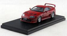 1/43 Hi-Story Toyota Supra 3000GT TRD Turned Version 2001 Red HS108RE