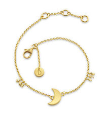 Daisy London NEW! 18ct Gold Plated Half Moon Good Karma Bracelet