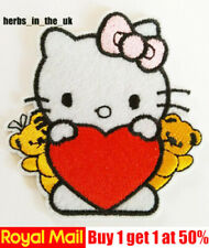 Hello Kitty cute animal Embroidered Iron Sew on Patch