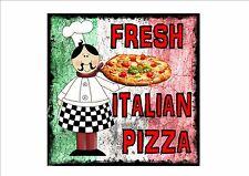 American Vintage Estilo Cena Letrero Muestra De Café Pizza RETRO COCINA