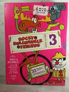 Rocky & Bullwinkle & Friends - Third Season 3 (4-Disc DVD) Region 1